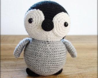 Crochet Penguin softie/ Pingouin en peluche