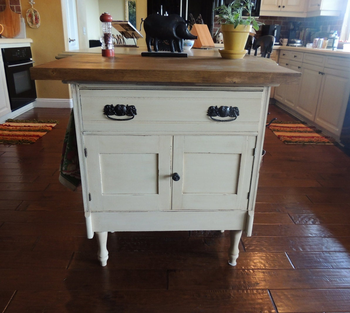 1920 s repurposed vintage kitchen island