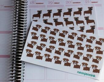 Boxer Dog Sticker Set