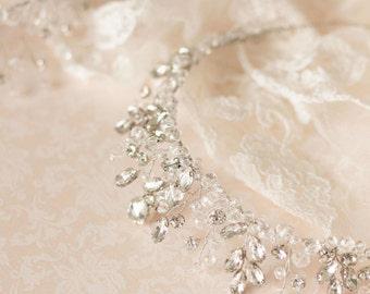 20%OFF-  Wedding Crown, Bridal Tiara, Crystal Bridal Tiara, Bridal Diadem, Crystal Crown, Bridal Crown, Bridal Hair Accessory, Headpiece