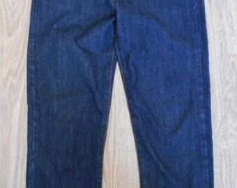 Blue Cotton Jeans Isabel Marant Etoile