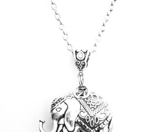 Exquisite Elephant - Adult Essential Oil Diffuser Necklace