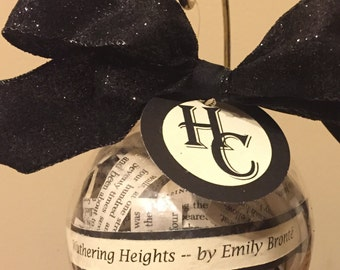 Wuthering Heights (Emily Bronte) Ornament