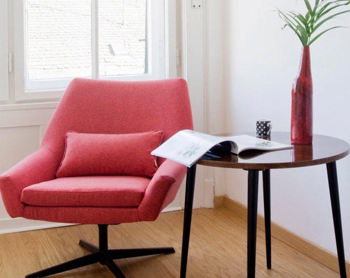 Raisa Upcycled Steelcase Swivel Armchair