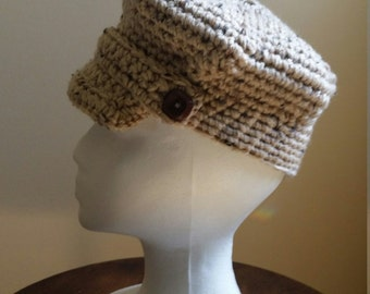 Newsboy Cap - Toddler Hat - Crochet Newsboy Cap - Child Newsboy Cap -Photo Prop - Ready to Ship