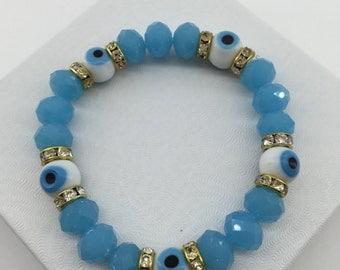 Evil Eye Bracelet - High Quality Glass Beads