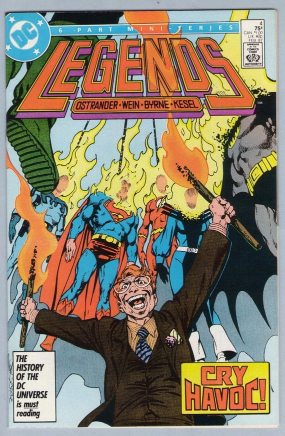 Legends 4 Feb 1987 NM- (9.2)
