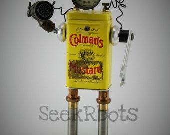 Retro Robot Print, Vintage Scifi Wall Art, Giclee Print, 8x10