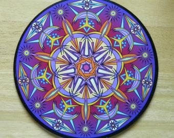 """8"""" Mandala - """"Intensity"""""""