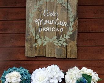 Farmhouse Style Mason Jars Wedding Centerpieces Custom Blue Jar Country
