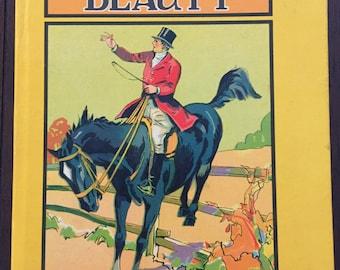 Black Beauty, 1937 vintage children's book