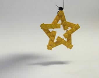 Custom LEGO® Star Ornament- Size: Small
