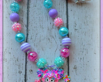 Abby Cadabby inspired necklace