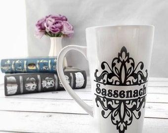 Sassenach Mug - Sasseach Gift - Coffee Mug - Tea Mug - Tea Cup - Latte Mug