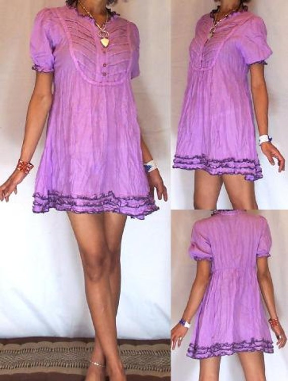 y summer Baby doll Dress in Lilac by BlondellaLife on Etsy