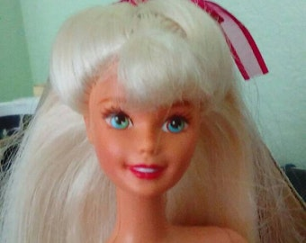 Barbie platinum blonde