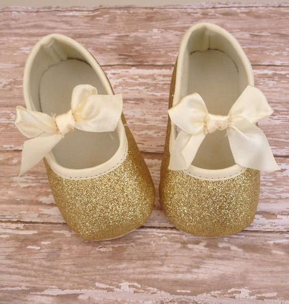Baby Girl Shoes baby shoes gold baby shoes by
