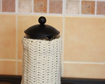 French Press Cozy Cover  bodum cozy cafetiere cozy coffee pot cozy coffee pot cosy Coffee Pot Warmer gift