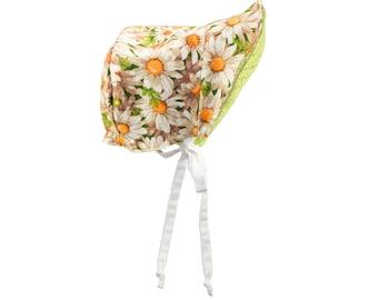 Vintage Daisy Baby/Toddler Sun Bonnet