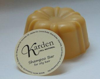 Shampoo Bar for Oily Hair - Bundt Shaped Goat Milk Shampoo Bar
