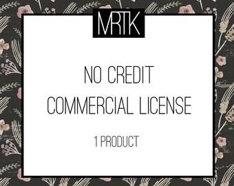 No Credit Commercial License