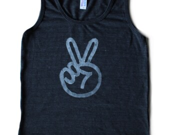 peace sign toddler tank top, two year old birthday shirt, peace shirt, hippie baby, unisex baby clothing, hipster clothes, BLACK