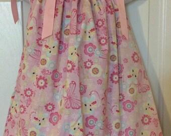 Pink Fairy Pillowcase Dress Size 18M