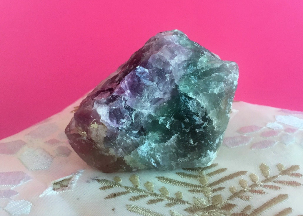 how to clean fluorite crystal