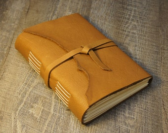Leather Journal | Sketchbook | Rustic Leather Journal, Sketchbook