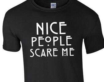 normal people scare me shirt etsy fr. Black Bedroom Furniture Sets. Home Design Ideas