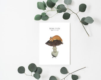 Welcome, Little One - Greeting Card by House of Lourds
