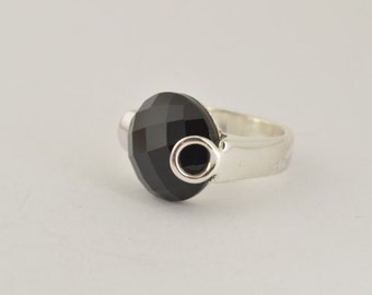 Onyx Ring - Silver Ring - Fine Ring - Unique Ring - Fine Jewelry - Unique Jewelry - Silver Jewelry - Onyx Earrings - Statement Ring