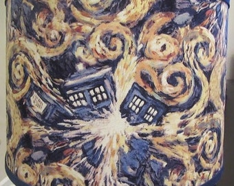 Doctor Who Exploding Tardis Lamp Shade
