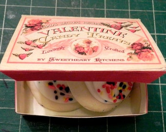 Valentine Gift Box Template DIY Valentine Candy Treats Valentine Printable Box DIY Valentines Gift Box Template and Instructions