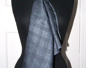 Large Textured Silk Scarf, Wrap