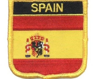 Spain Patch (Iron on)