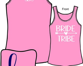 Bride Tribe}  Bachelorette Party} Bachelorette Weekend} Bridesmaid} Wedding Party} Girls Weekend} Comfort Color by HeadSouthApparel