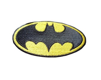 Batman embroidered appliques cartoon fabric patch cotton patches batgirl iron on patch batgirl embroidered patch sew on patch 10*5.3CM A149