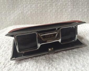 Vintage Tasco folding Opera Glasses, Binoculars, Bird watching, Wildlife, mini binoculars