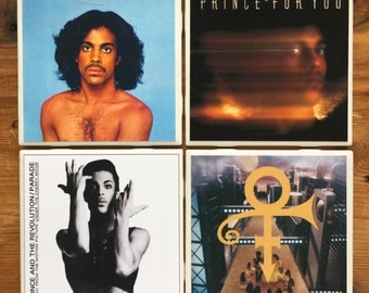 Prince Album Cover Coasters - B
