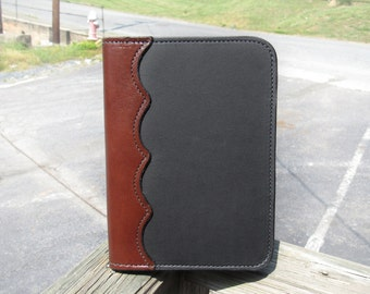 Genuine Leather Notebook Holder // Office Supplies // For Him // Father's Day // Gift for Dad
