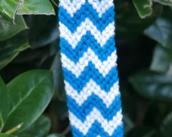 Turquoise Chevron Bracelet