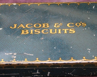 Vintage Jacobs & Co's Biscuit tin