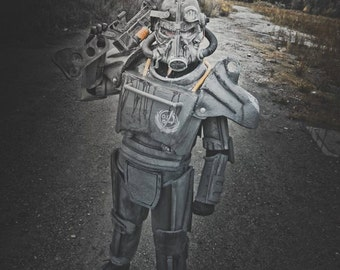 Fallout inspired Power Armor and Laser Rifle Prop bundle