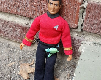 "Star Trek Mr. Scott Scottie 8"" Action Figure Vintage 1974 Mego 1970s"