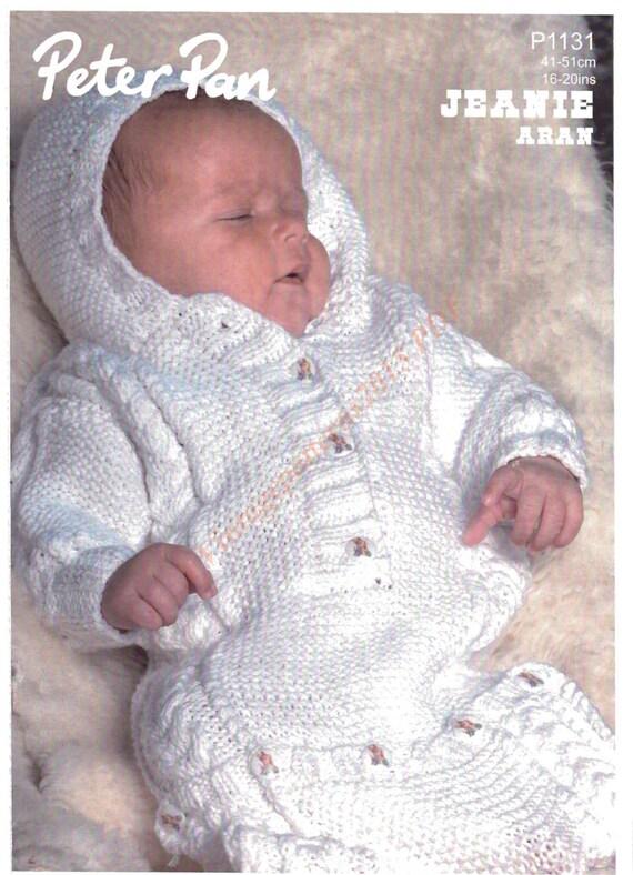 Baby Knitting Patterns Sleeping Bag : Baby Sleeping Bag Knitting Pattern Aran by VintagePatterns2015