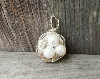 Nest Egg Pendant