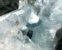 XL Rare Keyhole Celestite | Celestine Cluster