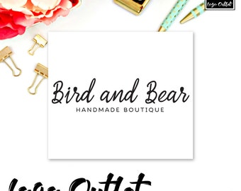 Premade Logo Design - Includes files for Web and Print! Perfect for Boutique, Handmade Shop, Clothing Maker, Photographer + much more!