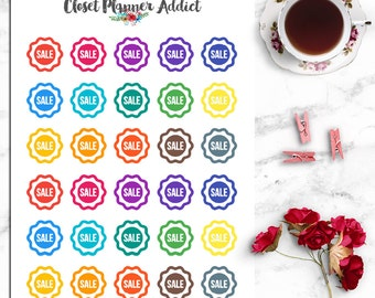 Shopping Sale Icon Planner Stickers | Sale Stickers (I-020)